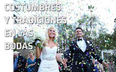 Costumbres y tradiciones en las bodas. Supersticiones y creencias populares.