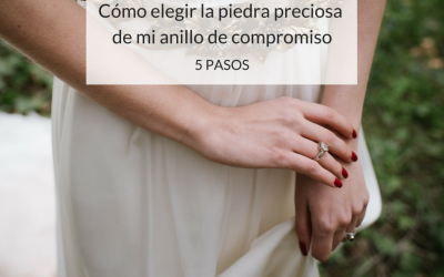 ¿Cómo elegir la piedra preciosa de tu anillo de compromiso? ¡Aquí tienes sus significados!